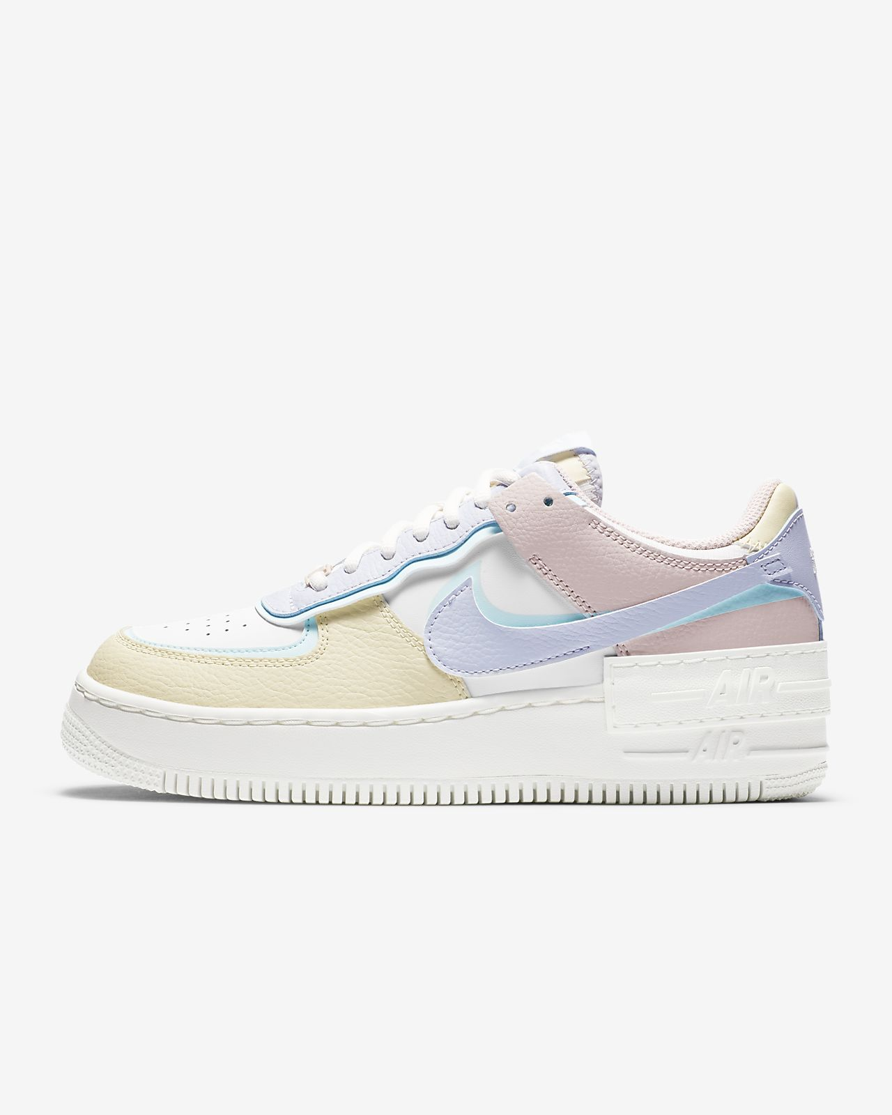 basket femme nike air force 1 pastel